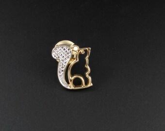 Avon Squirrel Tac Pin, Avon Squirrel Brooch, Avon Pin, Avon Brooch, Animal Brooch