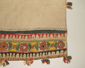 Vintage Ethnic Bohemian Bag or Pillow Cover • shabby