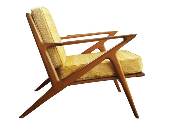 Danish modern poul jensen z chair selig denmark by for Poul jensen z chair
