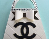 Reserved Listing  - Coco Purse Invitations - 10 Chanel Purse Invitations 10
