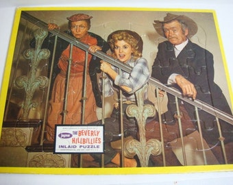 Beverly Hillbillies Puzzle - 1960's Television Collectible