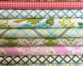Last of the Up Parasol fabrics, half yard bundle 9 total