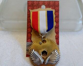 Steampunk Pilot Medal