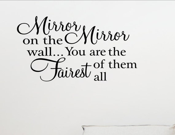 Items Similar To Mirror Mirror On The Wall...you Are The