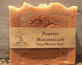 Pumpkin Marshmallow Cold Process Soap