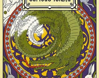 Coloring Book- Curious Island: a coloring book