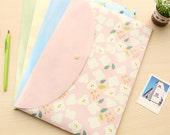 Sweet Flowers Envelope File Bag