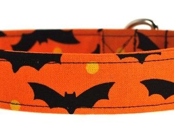 Halloween Dog Collar - The Flying Bats