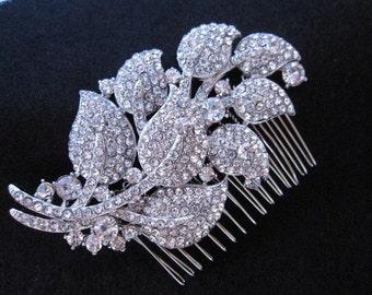 Rhinestone hair accessories,Crystal bridal comb,Wedding head piece,Bridal hair piece,Wedding hair clip,Bridal hair jewelry,Wedding hair comb
