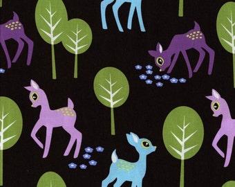 Pet Deer in Brown by Michael Miller Fabrics - you choose the cut