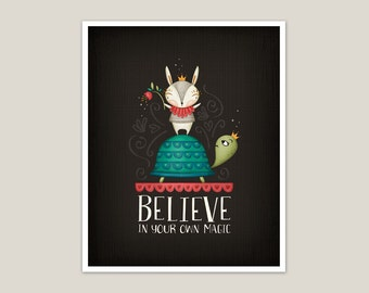 Believe In Your Own Magic - Art Print 8x10