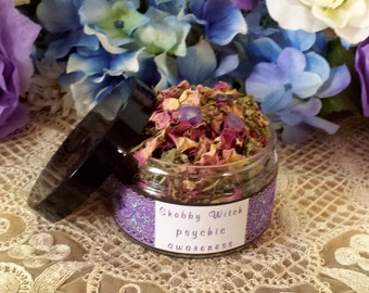 Psychic Awareness Herbal Blend, Fill Sachet Bags, Gris Gris Bags, Divination Blend
