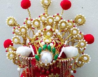 Chinese Traditional Wedding Bear