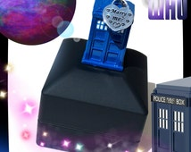 "REaDY NoW!・DOCTOR WHO PRoPOSAL・ENGAGEMeNT BoX L.E.D.・""THe GiRL WHo WAiTED..."" TARDiS NeRD GeEK WEDDiNG・GEEkMANA EXCLUSiVE!"