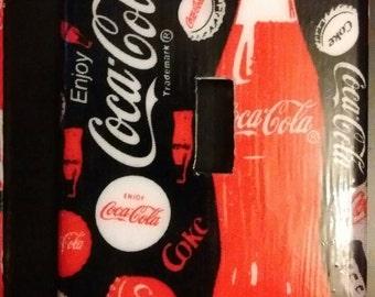 Coca Cola Single Toggle Light Switch Plate Cover