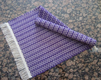 Handwoven Table Runner - Purple