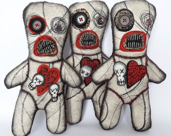 Voodoo Art Doll Gothic Horror Dolls