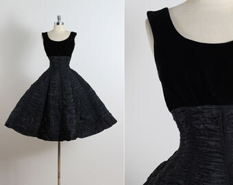 Vintage 50s Dress | Suzy Perette 1950s dress | cocktail dress | xs/s | 5464