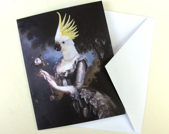 Nymphicus, Royal Mistress of Hollandicus - Note Card