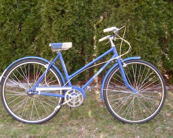 ON SALE  Vintage 1960's  Skyway Womens' 3 Speed Bicycle  Pick-Up Only!!