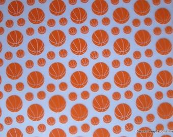 Basketballs Chocolate Transfer Sheets