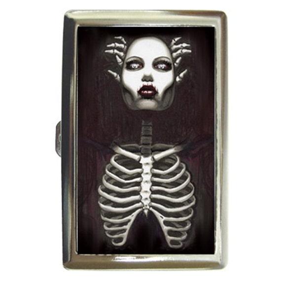 Zombie Pin Up Money/card/cigarette case