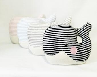 Bonnie - Big Plush Whale Cushion