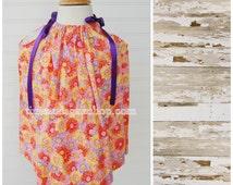 Handmade Pillowcase Dress From Handmade Pillowcase - Size 12 month dress (GW804) - Sundress - Daisy Dress FREE CLIP