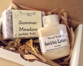 GIFT SET~Scented Natural SOAP & Body Lotion or Cream w/ Sea Buckthorn,Tamanu-Free U.S. Shipping
