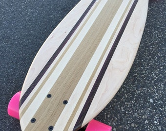 "Custom Made Longboard - 36x10 - Many Woods - ""Wasaga"""