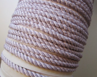 10 yards  lilac CORDING - Conso 1/4 inch cord cord - home decorator trim, home dec cord