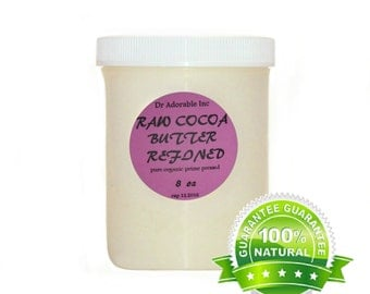 8 oz cocoa organic butter refined deodorized