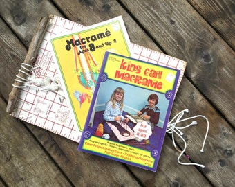 Macrame Instruction for Kids Patterns
