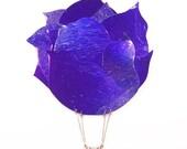 25% OFF Purple Flower - Metal Wall Art
