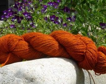100% Alpaca handspun - worsted weight yarn