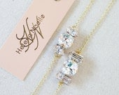 Swarovski Crystal Bridal Bracelet- Crystal Wedding Bracelet