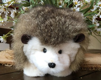 Ozzy, A Real Fur Hedgehog .. White Mink and Opossum