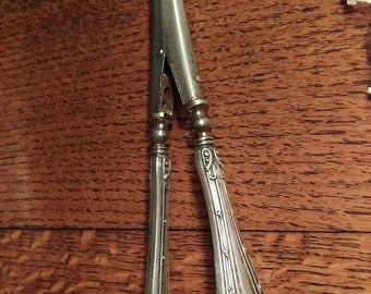 Antique Victorian Sterling Silver Glove Stretcher