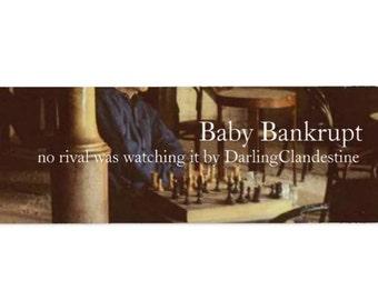 Baby Bankrupt handcrafted fragrance oil