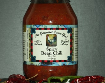 Spicy Bean Chili Soup