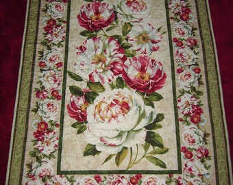 """Wilmington Prints """"Scentimental"""" Handmade Patchwork Quilt-Made in USA by MJ Quilts-Free Shipping in USA"""