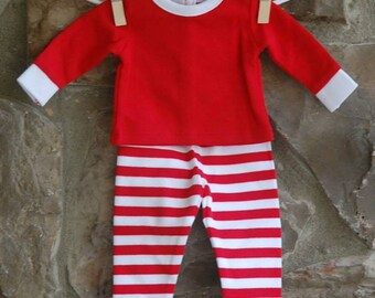 "18"" Doll Pajamas, Christmas Pajamas, Matching Pajamas"