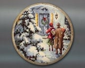 """3.5"""" holiday magnets for the kitchen - old fashioned christmas ornaments - holiday decorating ideas - retro kitchen decor MA-HOL-18"""