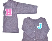 Personalized Kids Clothes, Monogrammed Cardigan, Varsity Cardigan, Personalized Gift, Girls cardigan, boys cardigan, custom name, kids gift
