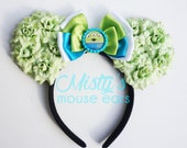 Inspired Toy Story Alien Rose Mouse Ears