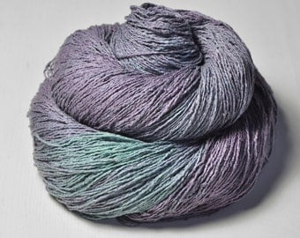 Army of the Dead  - Silk Noil Lace Yarn - LIMITED EDITION