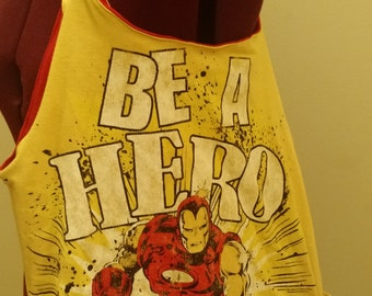Iron Man (With side pockets) - 100% recycled materials