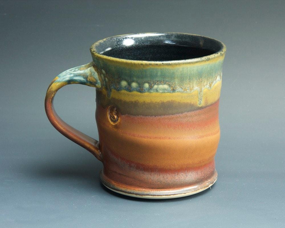 Handmade pottery coffee mug ceramic mug stoneware tea cup 14
