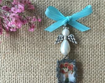Bouquet Photo Charm - Tiny Angel