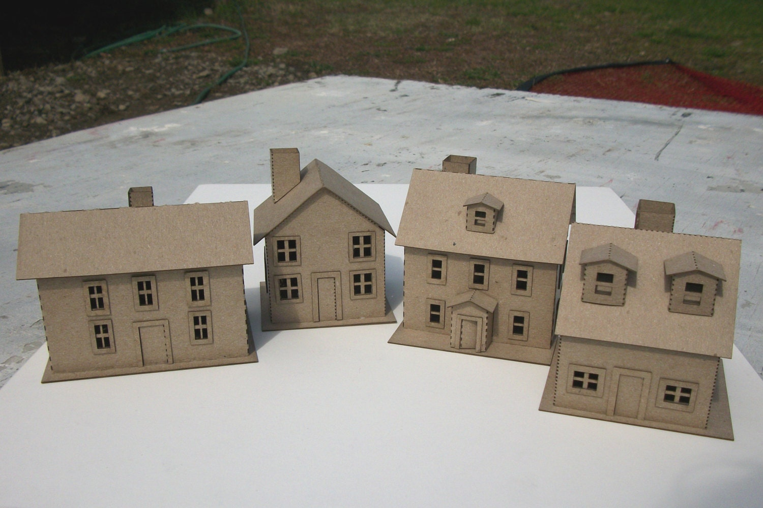 Putz House kit to make 4 houses